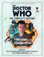 Doctor Who The Complete History Volume #01 Collectors Hardback Book Hachette Partworks